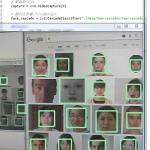 Python OpenCV 顔認証で画像保存
