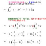 偶関数と奇関数の性質と定積分