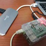 Raspberry Pi 3 + USB温度計でグラフ化 AWS IoT Core その①