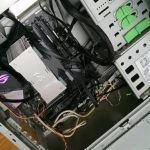 Mac遣い、親のパソコンを組む
